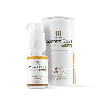 Imagen de CannabiGold Classic CBD 500 mg. - 12ml.