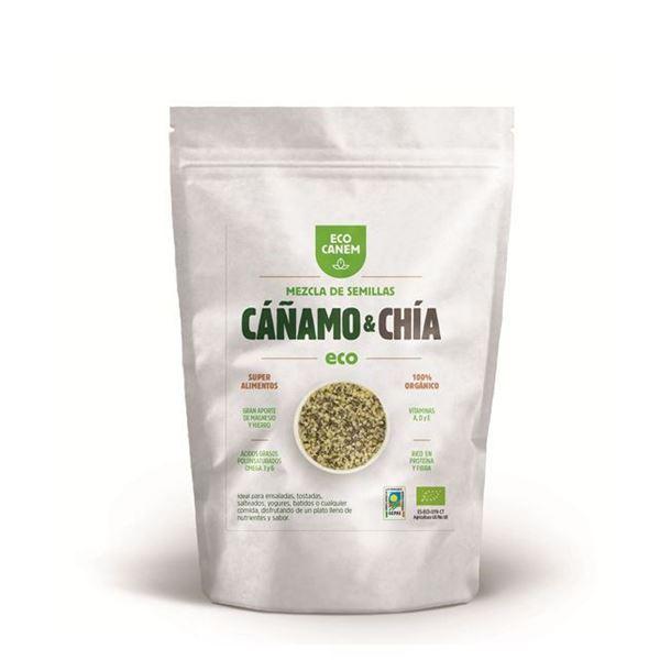 Imagen de Semillas peladas de Cáñamo y Chía Eco Canem 200 gr.