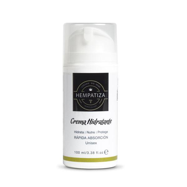 Imagen de Crema Facial Hidratante de Cáñamo Hempatiza 100ml.