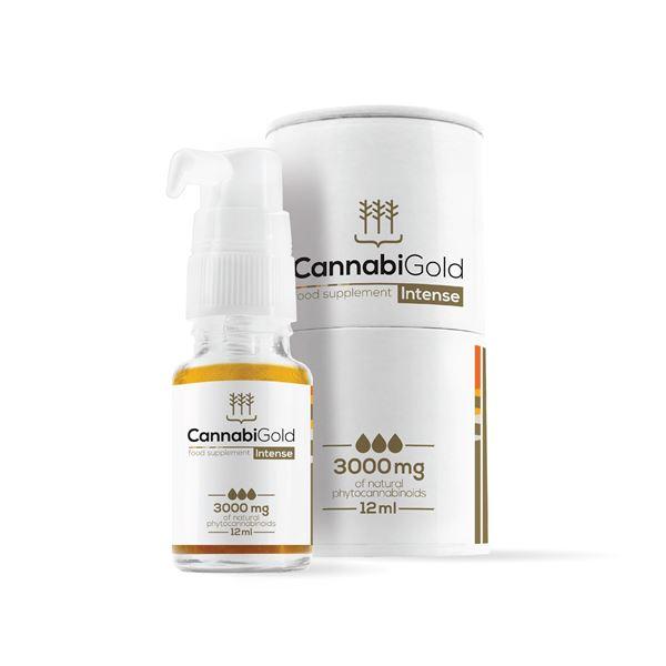 Imagen de CannabiGold Intense CBD 3000 mg. - 12ml.