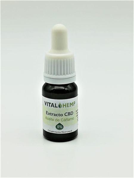 Imagen de Aceite Vital Hemp de Cáñamo con 5% CBD