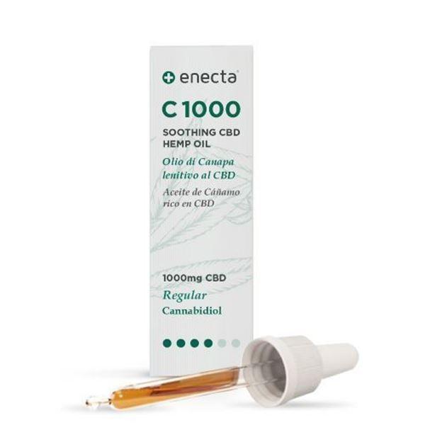 Imagen de Aceite C1000 Enecta de Cáñamo con CBD. 10 ml.