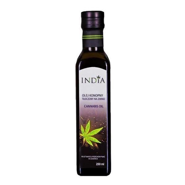 Imagen de Aceite de Semillas de Cáñamo India 250 ml.