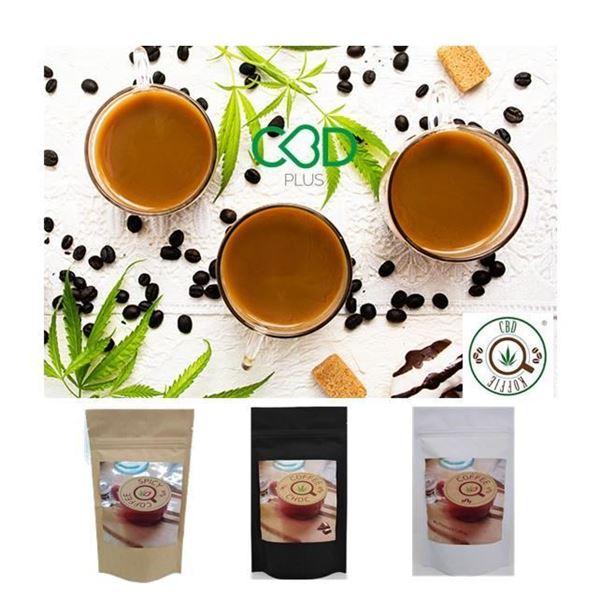 Imagen de Pack 3 variedades de Café Molido CBD COFFIE
