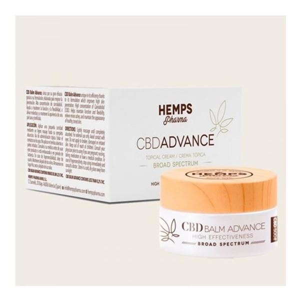 Imagen de CBD Balm Advance CBD Hemps Pharma 30 ml.