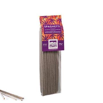 Imagen de Spaghetti - Pasta de semillas de Cáñamo 500mg.