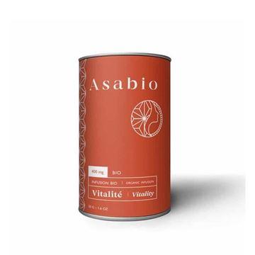 Imagen de Vitalidad Infusión de Hierbas y CBD Asabio 50gr.