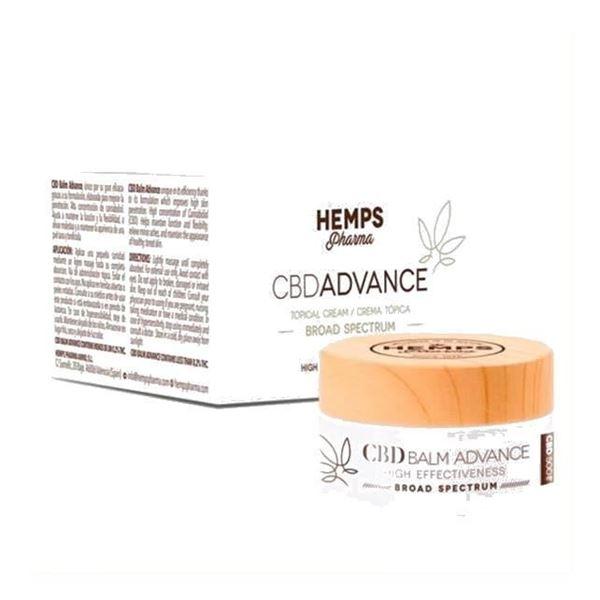 Imagen de CBD Balm Advance CBD Hemps Pharma 30 ml.