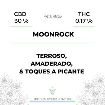 Imagen de MOONROCK Flores CBD House  1gr.