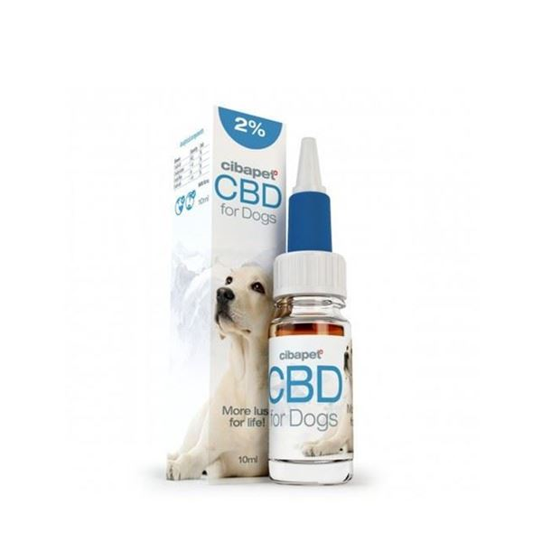 Imagen de CBD 2% para  Perros Cibapet -  10ml.