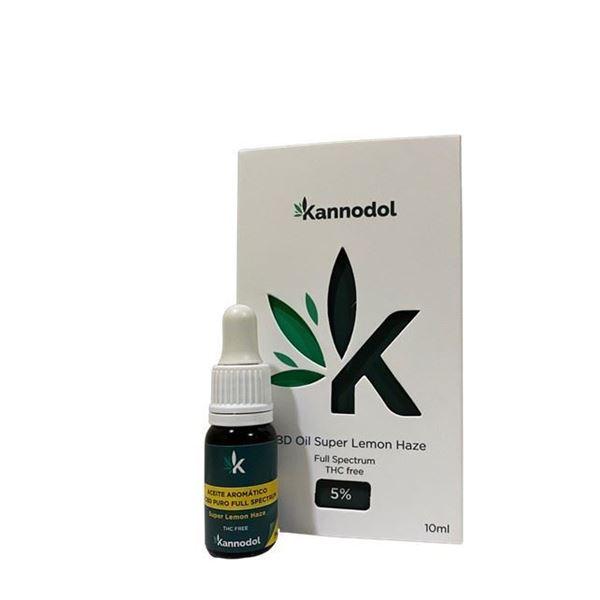 Imagen de CBD Oil 5% Super Lemon Haze Kannodol - 10ml.