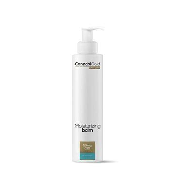 Imagen de Bálsamo hidratante para pieles secas, sensibles y con tendencia atopica Cannabigold 200ml. -