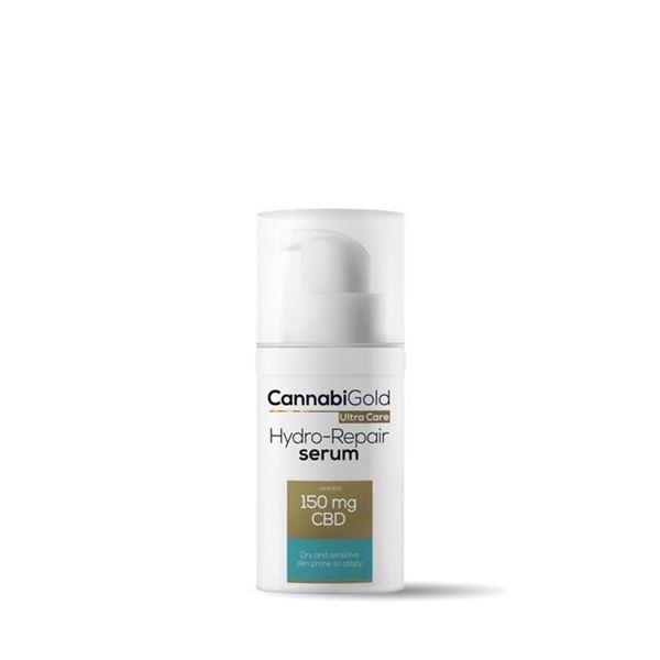 Imagen de CBD Hydro-Repair Serum pieles sensibles y con tendencia atópica Cannabigold 30 ml.